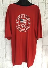 Polo Ralph Lauren Men T-Shirt Plus Size UK XXL Tall  2012 Olympic Team Red NEW
