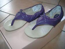 (Z50) BLOCH for Dancers Girls Schuhe Zehentrenner Leder Sandalen Ballerinas 34