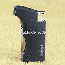 Black Honest Jet Flame Lighter Butane Gas Cigarette Lighter Gadgets Pipe Lighter