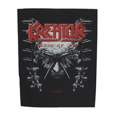Kreator OFFICIAL Back Patch Enemy of God schiena ricamate Teutonic Four thrashmetal