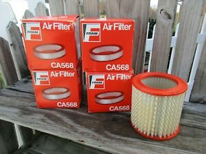 4 NOS FRAM AIR FILTERS CA568/CHEVY/CADILLAC/BUICK/OLDSMOBILE/8994941