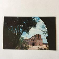 Tubacacori National Monument Pioneer Spanish Missionaries Indians Postcard