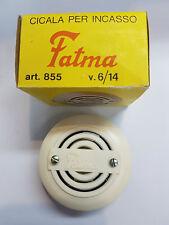 CICALA (SUONERIA) PER INCASSO FATMA 885 12V