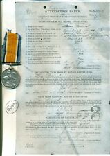Canada WWI 2 Silver War Medals to Father Pte A Baird & Son Cpl TA Baird
