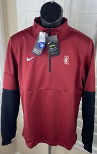 Nike NCAA Stanford University 1/4 Zip Therma Pullover CQ5711-698 - Men's Medium