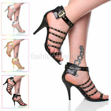 Unbranded Strappy Slim Heel Shoes for Women