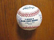 2010  Lake Erie Crushers-Signed(By 21)Baseball (w/JOHN  MASSARELLI/DAVE  SCHAUB)