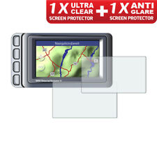 BMW Navigator IV Nav 4 GPS Screen Protectors: 1 x Ultra Clear & 1 x Anti Glare