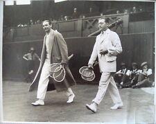 Jean Borotra Jacques Brugnon 1920's tennis photo Graph