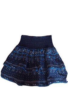 SUPERDRY - ORIGINAL & VINTAGEAmeera Mini Smocked Skirt - SIZE 8