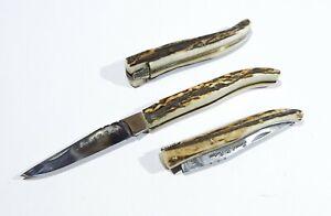 Pocket Folding Knife Laguiole antler