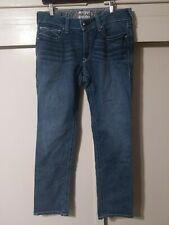 "ARIAT Real Denim Jeans Womens Sz 32R Bootcut (35""x32"")"