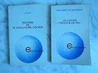 El Sofá Color De Fuego Fougeret Monbron Histoire Guillaume Check Caylus