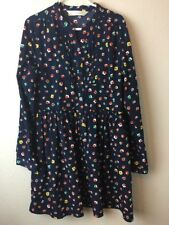 Arnold Palmer Girls Long Sleeve Floral Dress Size 70 / 7-8 Rare