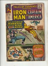 Tales Of Suspense #64 Vg 1st Black Widow in costume 1965