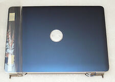 NEW GENUINE DELL INSIRON 1525 1526 LID TOP COVER MATT BLUE HINGES WIRES TY051