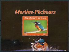 Mali 2018 MNH Kingfishers Kingfisher 1v M/S II Bird Birds Stamps