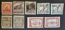 HUNGARY Szeged Temesvar overprint mh Nemzeti Kormany postage due 1919 lot mint