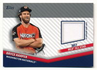 BRYCE HARPER 2020 TOPPS UPDATE ALL-STAR STITCHES JERSEY RELIC (2017) WHITE