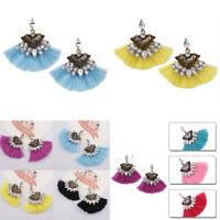 Fashion Women Tassel Dangle Drop Casual Party Earrings Ear Stud Accessories Gift