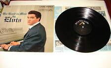 "Elvis Presley His hand in mine 12"" vinyl record album LSP-2328 rock RCA 1960"