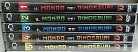 Il mondo dei dinosauri (5 DVD) [Editoriale] come nuovo