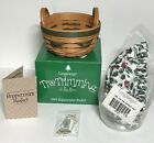 New in Box. Longaberger Tree Trimming 1999 Peppermint Basket