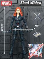 """Marvel Black Widow Avengers Legends Heroes 7"""" Action Figure Kid Collect Gift Toy"""