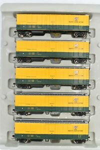 Athearn RTR 75454 Chicago & North Western 50 Ft Mechanical Reefers 5 Pack New