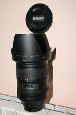 Zoom AFS Nikon 28-300 mm G VR stabilisé + filtre UV Hama 77 mm