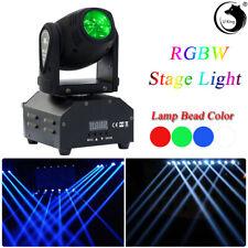 U`King Mini Rgbw Spot Beam Led Dmx Moving Head Stage Light Dj Disco Party Light