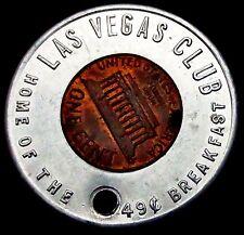 S919: Vintage USA Good Luck Surround Cent - Las Vegas - 49c Breakfast!!