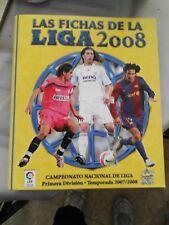 album cromos de anillas mundicromo fichas liga 2008 nuevo vacío