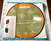 """The Beatles British Are Coming Picture Disc 12"""" LP Interview w/3D glasses MINT!"""