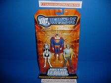DC Universe Justice League Unlimited Silver Banshee, Superman, Metallo Figures