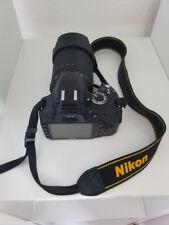 Nikon D D3200 24.2MP Digitalkamera - Schwarz (Kit mit II 18-55 mm Objektiv)