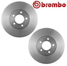 Pair Set of 2 Front Disc Brake Rotors Vent 294mm Brembo For Ford Mercury Lincoln