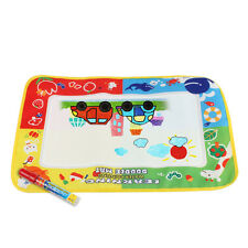 Aqua Doodle Paint Play Learn Color 45x29cm Mat with Water Drawing Pen for Kids