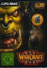 Warcraft 3 + Addon Frozen Throne = Gold Edition muy buen estado