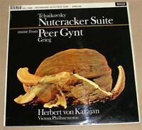 SXL2308 Decca ED1 WBG Tchaikovsky Nutcracker Suite Peer Gynt Grieg Karajan 1962.