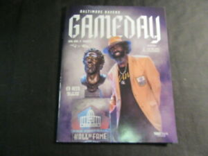 Baltimore Ravens Ed Reed Hall of Fame Program & Coin, & Ray Lewis Coin      J4