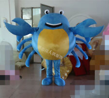 Blue Crab Mascot Costume suits Interesting Party dress Adults Size Advertising