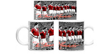 Busby Babes Flowers of Manchester 11oz Mug Cup  Gift United Football Munich