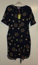 White Stuff Olive Spot Dress Size 14 Box27 05 D