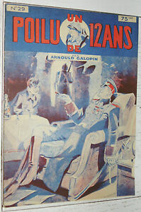 N°29 UN POILU DE 12 ANS  ARNOULD GALOPIN 1929