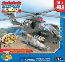 Cra-Z-Art Superblox Attack Helicopter - 235 Pieces 