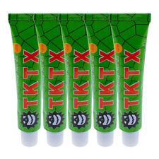5PCS TKTX 39.9% Numbing Tattoo Skin Anesthetic Numb Cream Semi Permanent Green