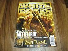 WHITE DWARF 128 --- WARHAMMER / ELDAR RANGER /ZWEI TÜRME/LEGIONEN von MITTELERDE