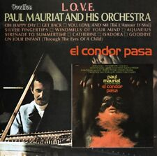 Paul Mauriat Orchestra El Condor Pasa & LOVE CD