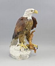 Vogel Porzellan Figur Großer Weißkopfseeadler Ens H45cm #9941474